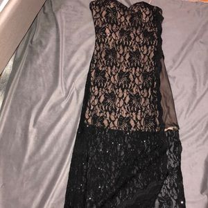 Sexy vintage lace dress
